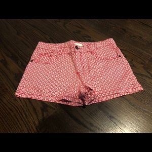 Crazy 8 girls shorts size 12